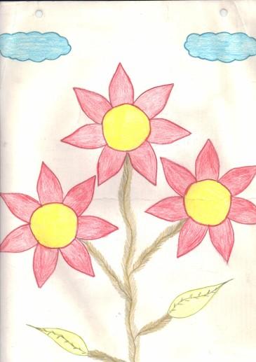 Dibujo para el Dr. SLA - Karina Osorio - Anverso